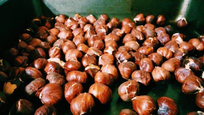 Roasted Hazelnuts taste just as good as Nutella!