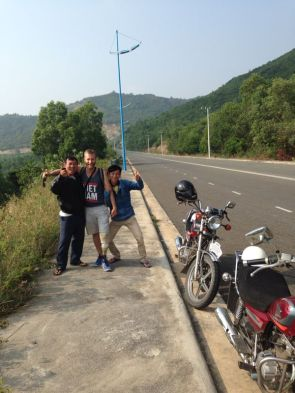Easy riders in Nha Trang