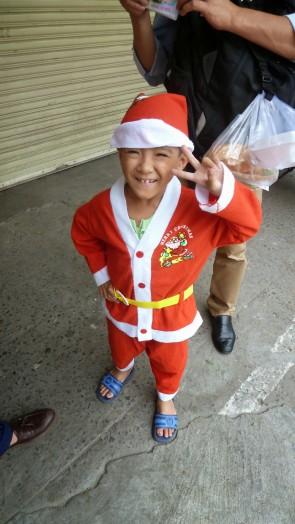 Christmas day in Saigon