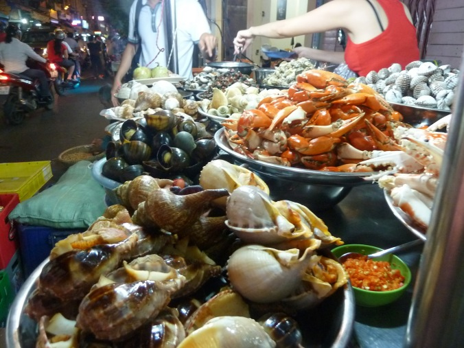 Saigon's infamous Snail Street