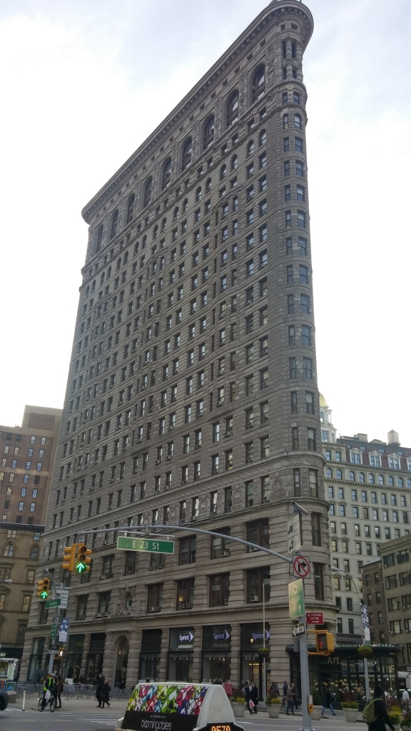 Flatiron building. Looks cool at all angles