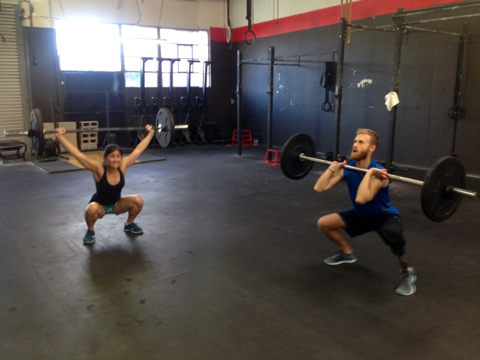 Death by overhead squats, anyone?
