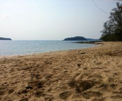 My private beach, Koh Ta Kiev