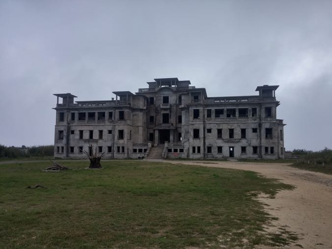 The abandoned casino, Bokor Hill Station