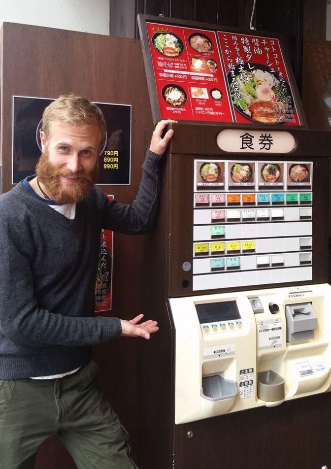 Vending machine restaurant.