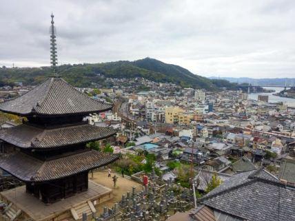 Onomichi city.
