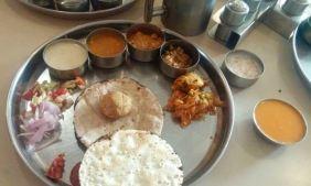 A Thali restaurant in Udaipur.
