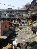 Spice market rooftops, Old Delhi.