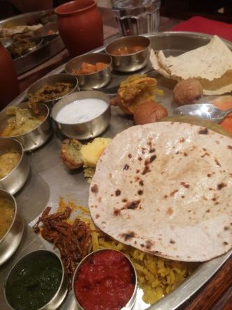 Best Thali. Also unlimited servings.