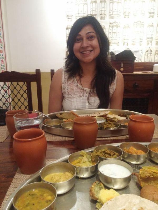 Rajasthani Thali with Delhi Dee.