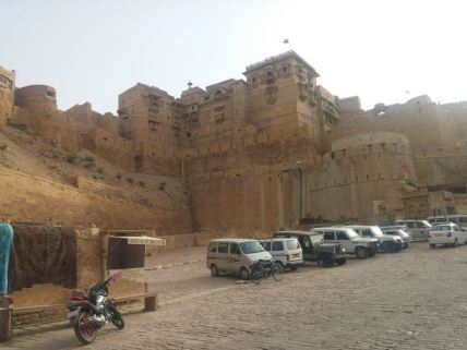 The fort at Jaisalmer.