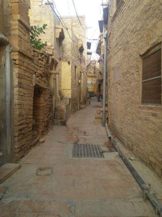 Alleyways of character.