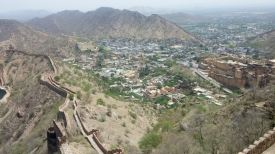 View from Jaigarh Fort, Jaipur.