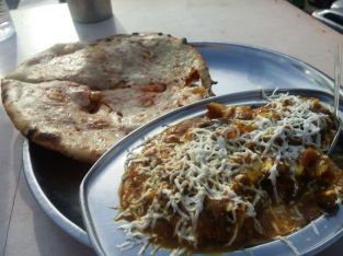 """Vegetable Special Deluxxe"" & Paneer Parantha."