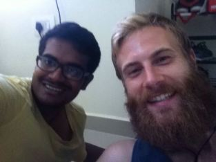 Eating with Mani in Chennai,