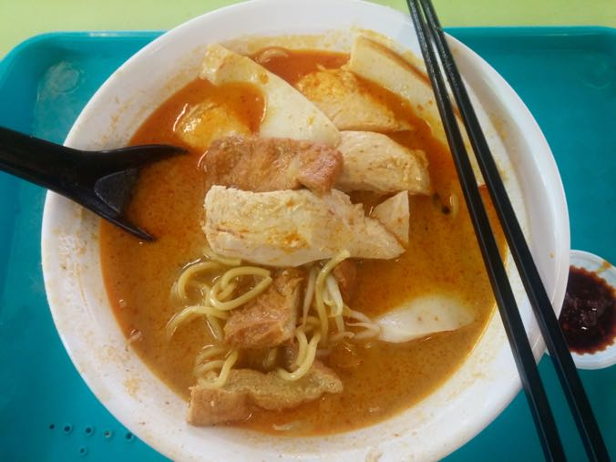 Curry Chicken Mee, Hong Lim Food Centre.