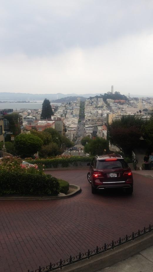 Lombard St, San Francisco.